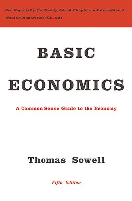 libro economics for the common basic economics thomas sowell libro en papel 9780465060733