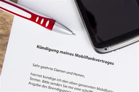 K Ndigung Schreiben Muster Vodafone vodafone k 252 ndigung