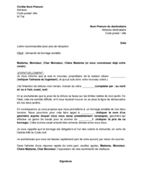Modèle Lettre Résiliation Bail Commercial Amiable