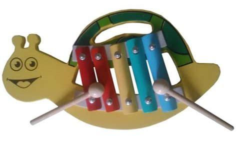Mainan Edukasi Kayu Kolintang Mini Klasik alat musik kolintang mini siput