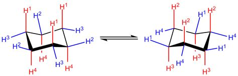 Chair Cyclohexane by What Are Two Types Of Substituent Around A Chair