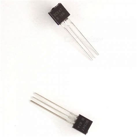 transistor bc547 to 92 bc547 to 92 npn 45v 0 1a general purpose transistor black 1000 pcs free shipping dealextreme