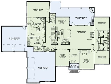 master house plans like the master closet attached to laundry first floor