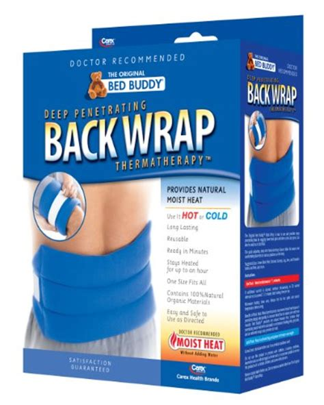 carex bed buddy carex bed buddy back wrap health beauty personal