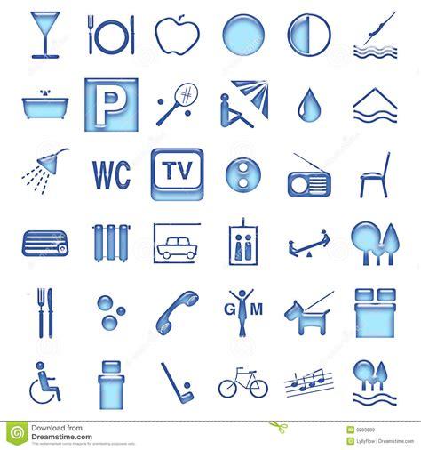 cadenas internacionales en ingles s 237 mbolos do hotel ilustra 231 227 o stock imagem de vidro