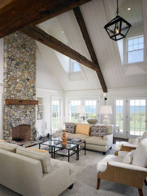 vaulted ceiling decorating ideas living room vaulted ceiling beadboard home design ideas pictures