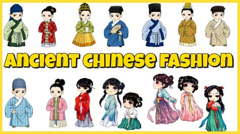 history of chinese hairstyles chinese fashion through the dynasties youtube