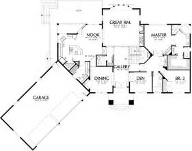 Angled House Plans European Luxury Plan With Angled Garage 69270am 1st