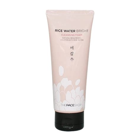 The Shop Rice Water Bright Cleansing Foam the shop rice water bright cleansing foam 150ml