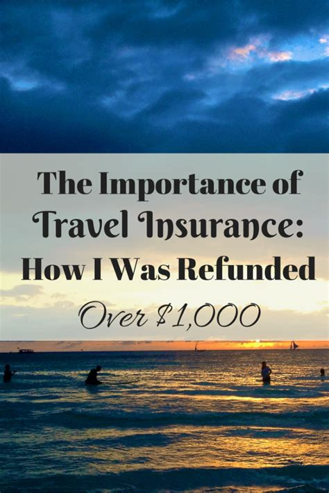 house of travel travel insurance the importance of travel insurance how i was refunded over 1000 home behind the world ahead