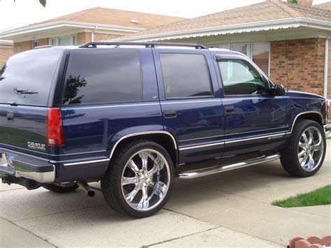 Chevy Tahoe 98 by Joa6q9uin 1998 Chevrolet Tahoe Specs Photos Modification