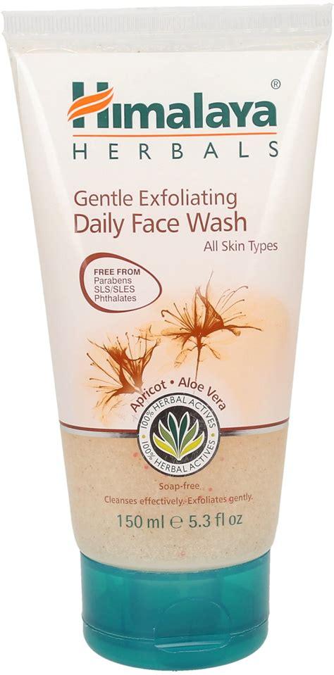 Himalaya Herbals Gentle Exfoliating Daily Wash Komedo 100ml gentle exfoliating daily wash 150 ml ayurveda 101