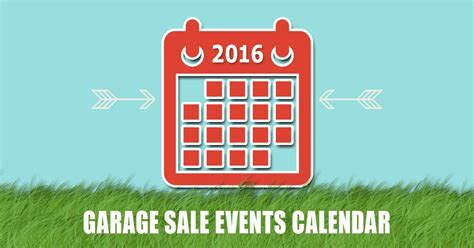 Garage Sale Okc by Calendar Of City Wide And Neighborhood Garage Sales