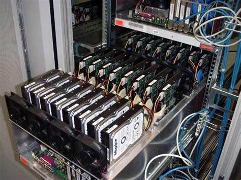 Harddisk Raid the drives 576 x 160 gb from maxtor drives instead of 70 tb backup raid at
