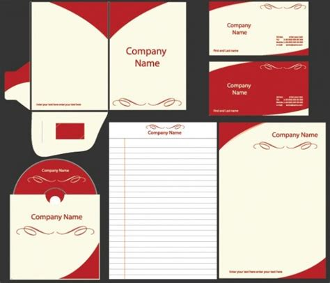 business card cd label template bold business identity vector template set welovesolo
