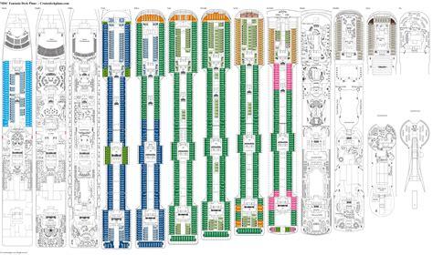 Msc fantasia deck plans cabin diagrams pictures