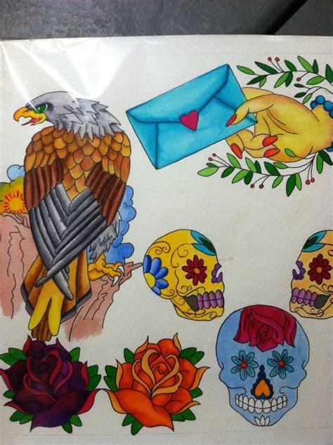 tattoo flash watercolor watercolor tattoo flash by amm217 on deviantart