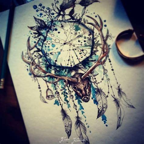 watercolor tattoo dreamcatcher 17 best ideas about dreamcatcher tattoos on