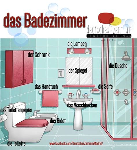 Badezimmer Poster by 17 Best Images About Aleman Aprendiendo On