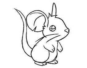 color mouse free coloring pages of mice