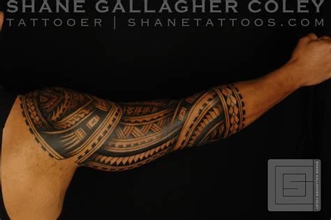 shane tattoos polynesian sleeve chest tatau tattoo shane tattoos polynesian sleeve tatau tattoo