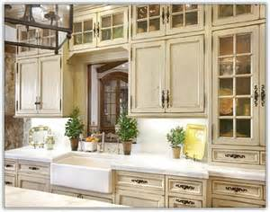 charming Small French Country Kitchens #2: french-kitchen-cabinets.jpg