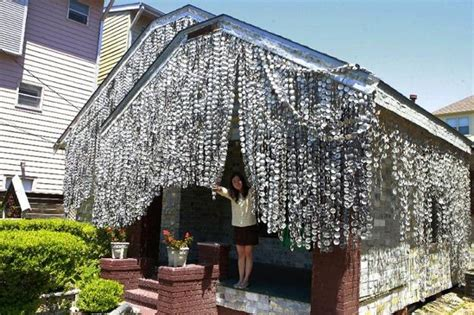 beer house design unique house design recycling 50 000 beer cans