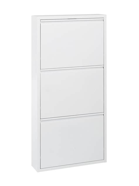 Armoire A Chaussure 647 by Meuble Chaussure Metal Design