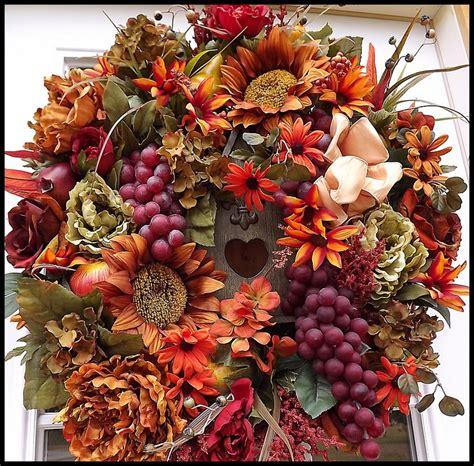 Autumn Wreaths Front Door Beautiful Autumn Door Wreath Fall Into Fall Decor