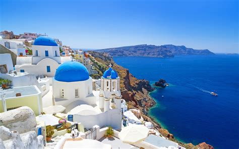 desktop themes greece landscape nature greece wallpapers hd desktop and