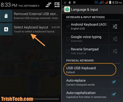 keyboard settings android how to change physical keyboard layout in android