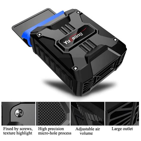 Vacuum Cooler Laptop Universal Taffware V6 taffware universal laptop vacuum cooler v6 black