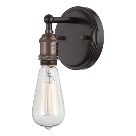 Rustic Wall Sconce Lighting Sconce Wall Light In Rustic Bronze Finish 60 5515 Destination Lighting