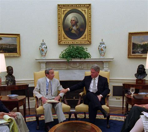 clinton oval office file bosnia meeting with president clinton secretary of