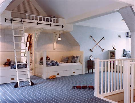 cool attic kids bedroom ideas