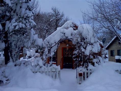 snow covered home  flagstaff arizona flagstaff