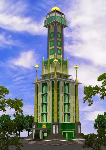 gambar desain menara masjid cirebon metro menara masjid agung sumber