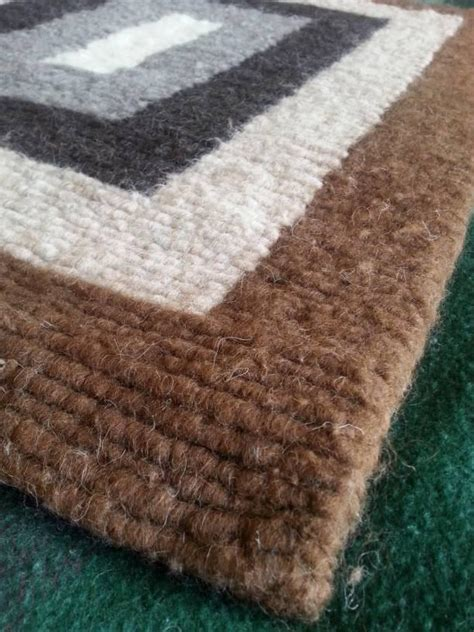 Wool For Rug Hooking by Nested Rectangle Locker Hooked Wool Rug Dyers Wool