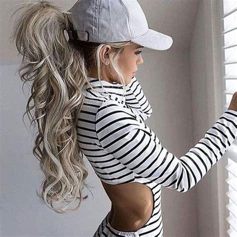 ponytail hairstyles instagram pinterest oohmyjupiterr h a i r pinterest pony