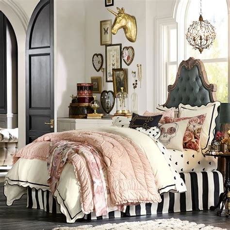 pbteen bedrooms the emily meritt scallop duvet cover sham pbteen