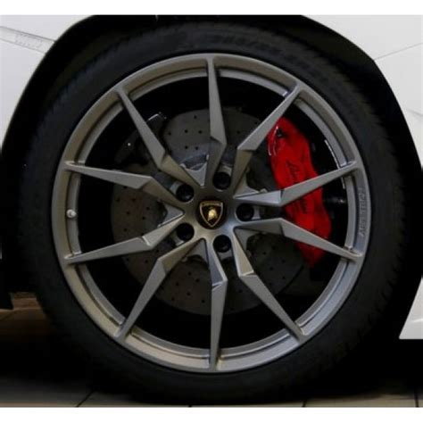 Wheels Lamborghinis Lamborghini Aventador Dione Alloy Wheel Set Titanium