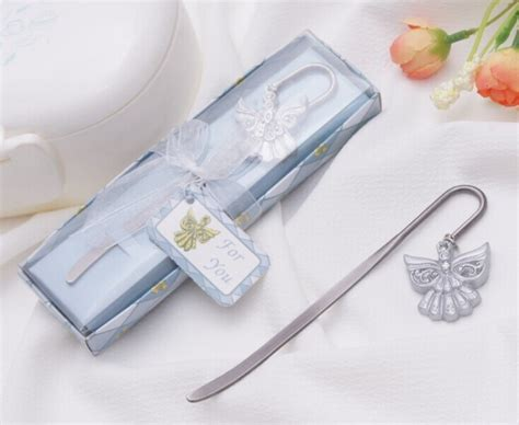 Christening Giveaways Souvenirs - 2014 new angel bookmark for christening favors baby shower favor guest souvenirs