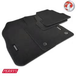 Vauxhall Mats Vauxhall Mokka Anthracite Velour Carpet Front Rear Car