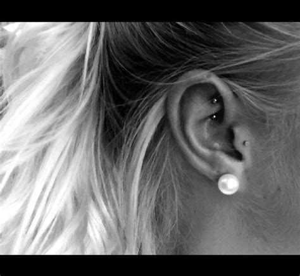 25 best ideas about tragus on ear piercings