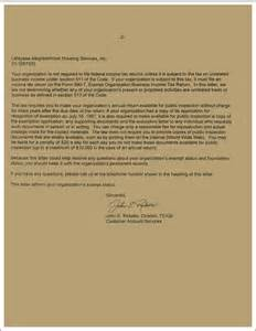 Housing Certification Letter 501 C 3 Homesteadcs