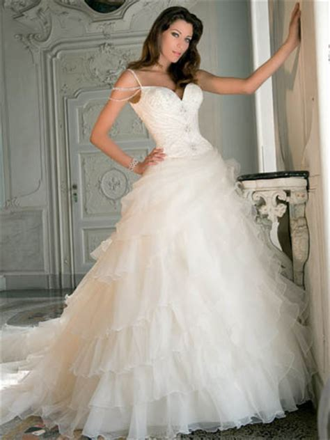 lightness chiffon wedding dresses