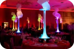 led centerpiece lights event lighting services event lighting and design