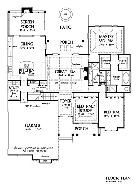 House Plan Of The Week | ranch house plans plan of the week houseplansblog