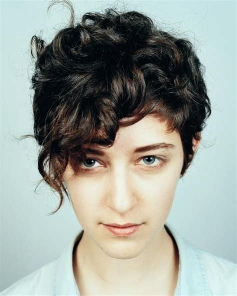 curly hair styles back view womens 1044 best short curly hair images on pinterest hair cut