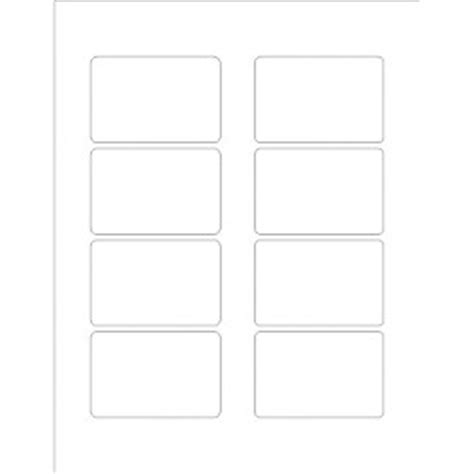 Templates Print To The Edge Clear Rectangle Labels 8 Per Sheet Avery Avery 22822 Template Word